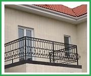 Установка внешнего блока на металлическую решетку балкона