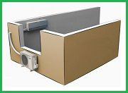 Базовый монтаж настенной сплит-системы (с притоком атмосферного воздуха) 4.6- 6.0 кВт